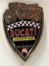 Ducati Shield Metal Badge/Lapel-pin