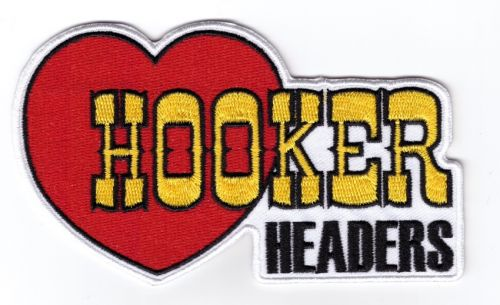 Hooker Headers Embroidered Cloth Patch BP