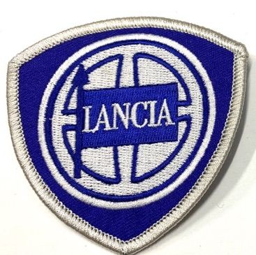 Lancia 75*75 Early Embroidered Cloth Patches
