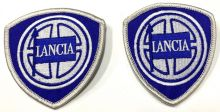 Lancia Duo Early Embroidered Cloth Patches