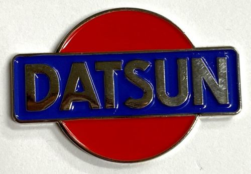 Datsun Logo Meat Badge Lapel-pin