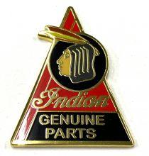 Indian Genuine Part Metal Badge/Lapel-pin