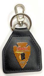 Indian Arrow Head Genuine Leather Keyring/fob
