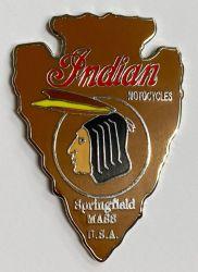 Indian Arrow Head Metal Badge/Lape-pin