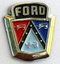 Ford Bonnet Emblem Badge/Lapel-pin