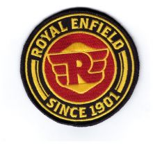 Royal Enfield Round Embroidered Cloth Patch