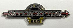 Royal Enfield Interceptor Metal Badge/Lapel-pin