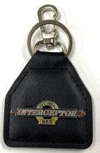 Royal Enfield Interceptor Leather Keyring/fob