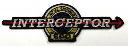 Royal Enfield Interceptor Embroidered Cloth Patch