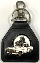 HR Holden Leather Keyring/Fob
