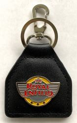 Royal Enfield Wings Leather Keyring/fob
