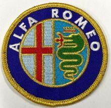 Alfa Romeo Embroidered Cloth Patch