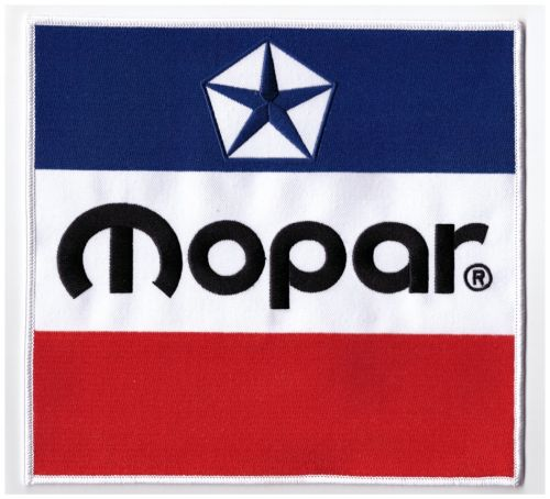 Mopar 3 Colour Patch