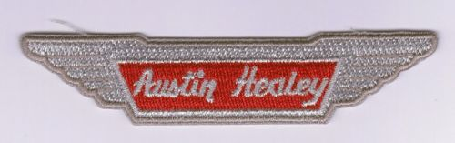 Austin Healey wing embroidered Cloth Patch