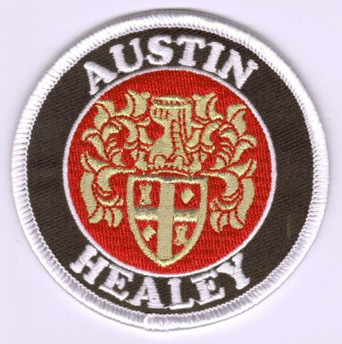 Austin Healey Round embroidered Cloth Patch