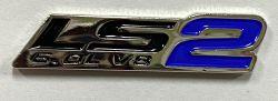 LS 2 6.0L V8 metal Badge