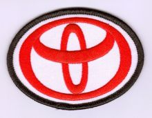 Toyota Logo Embroidered Cloth Patch