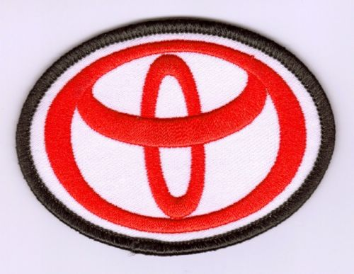 Toyota embroidered Cloth Patch