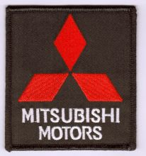 Mitsubishi embroidered cloth Patch
