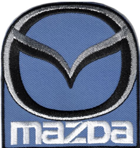 Mazda New embroidered Cloth Patch