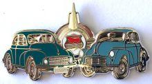 Morris Duo metal Lapel-pin/Badge