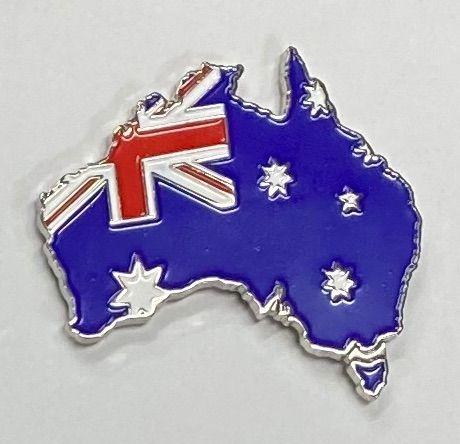 Australia Flag in Australia metal Lapel-Pin Badge