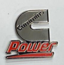 Cumins Power Metal Lapel-Pin/Badge