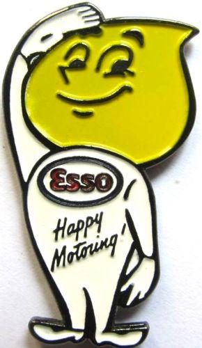 Esso Oil Drop Man Badge
