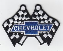 Chevrolet Racing Flags Embroidered Patch