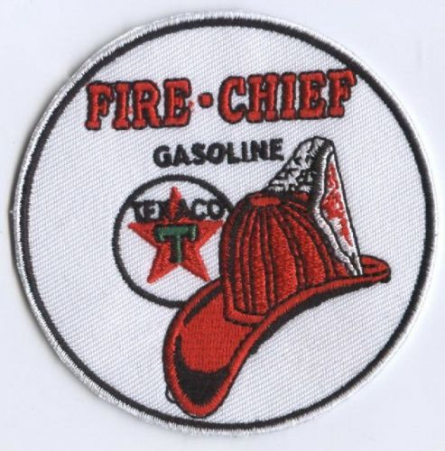 Fire Chief Texaco Patch