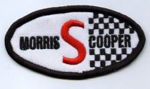 Morris Cooper S Oval Patch