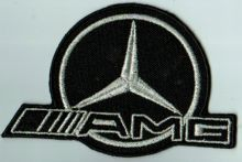 AMG Mercedes Embroidered Patch
