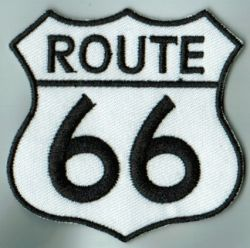 Route 66 White Patch