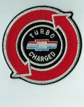 Turbo Charged Chevrolet Corvair Embroidered Patch