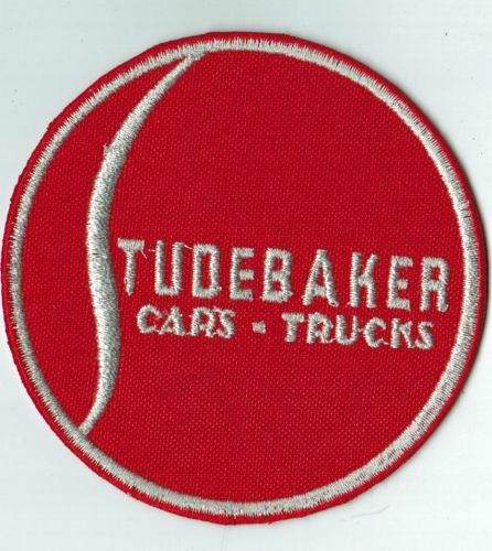 Studebaker Red Round Patch