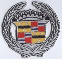 Cadillac Wreath Patch