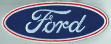 Ford Oval Back Patch
