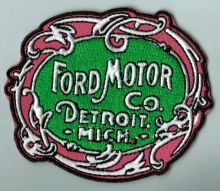 Ford Detroit Mich Cloth Patch