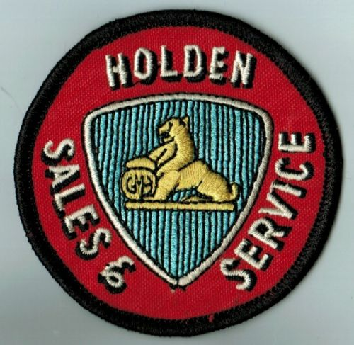 Holden Sales & Service Cloth Patch