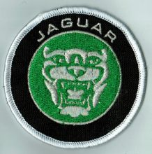 Jaguar Emblem Round Embroidered Patch