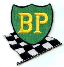 BP Racing Flag Patch
