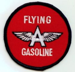 Flying A Gasoline Patch