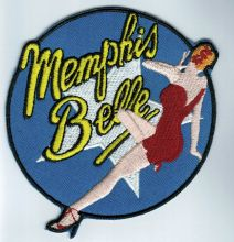 Memphis Bell Nose Art Patch