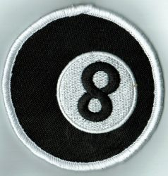 8 Ball Patch