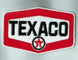 Texaco Cloth Embroidered Patch