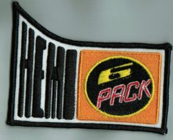 Chrysler Hemi 6 Pak Cloth Patch