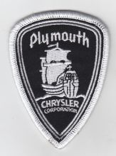 Plymouth Shield Patch