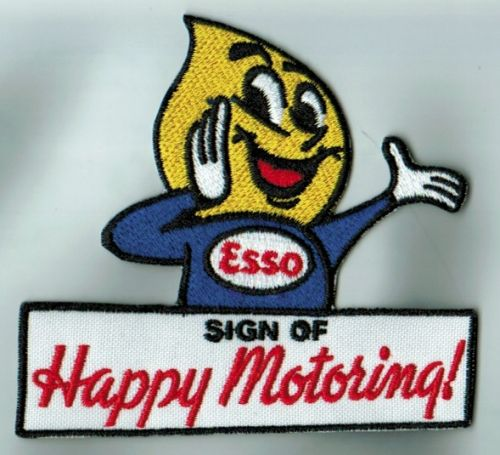 Esso Happy Motoring Man Cloth Patch