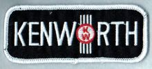 Kenworth Oblong Black Patch