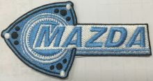 Mazda Rotary Blue Patch